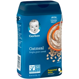 Gerber Cereal Oatmeal Multipack - 8 Oz.