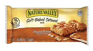 Nature Valley Oatmeal Square Soft Baked Peanut Butter - 28.05 Oz.