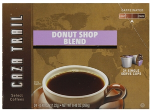 Caza Trail Donut Shop Blend Coffee - 9.48 Oz.