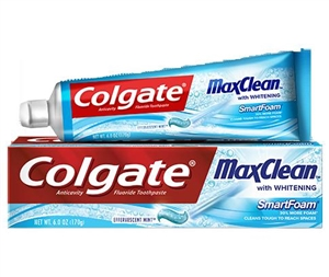 Max Clean Fresh Cool Mint Toothpaste - 1 Oz.