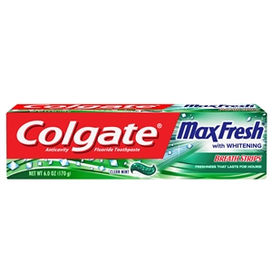 Colgate Max Fresh Clean Mint Toothpaste - 6 Oz.