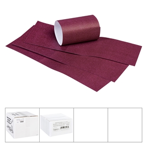 Napkin Bands Burgundy - 1.5 in. x 4.5 in.