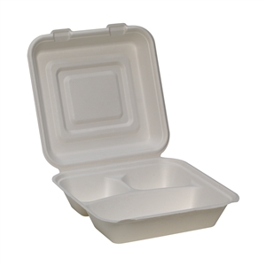 EcoSmart 3 Compartment Container - 9 in.