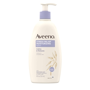 Aveeno Stress Relief Lotion - 18 Fl. Oz.