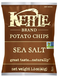 Kettle Sea Salt Potato Chips - 1.5 oz.
