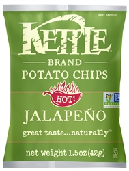 Kettle Jalapeno Potato Chips - 1.5 oz.