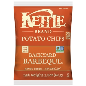 Kettle Backyard Barbeque Potato Chips - 1.5 oz.