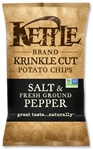 Kettle Krinkle Potato Chip Salt and Pepper - 1.5 Oz.
