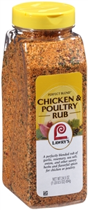 Lawrys Seasoning Perfect Blend Chicken - 24.5 oz.