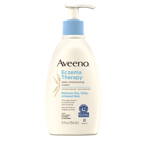 Aveeno Eczema Therapy Moisturizing Cream - 12 Oz.