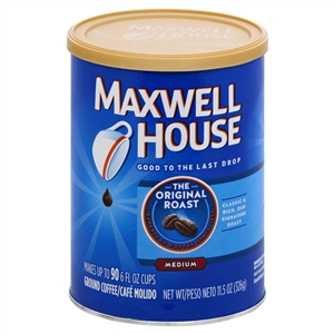 Maxwell House Coffee Original Roast - 11.5 Oz.
