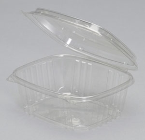 Hinged Deli High Dome Clear - 32 Oz.