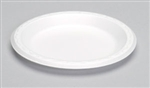Laminated Foam Plate Black - 7 in.