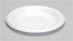 Elite Laminated Foam Plate White - 9 in.