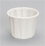 White Paper Portion Cup - 1 oz.