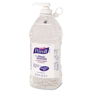 Purell Advanced Instant Hand Sanitizer Gel Citrus Scent Pump Bottle - 33.8 Fl. Oz.