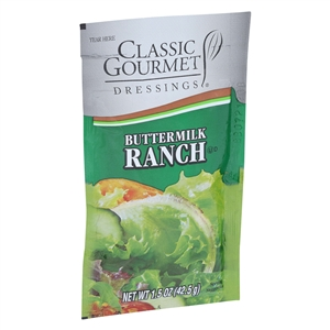 Ranch Buttermilk Peach Dressing - 1.5 oz.
