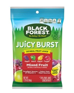 Black Forest Vending Fruit Snacks - 2.25 Oz.