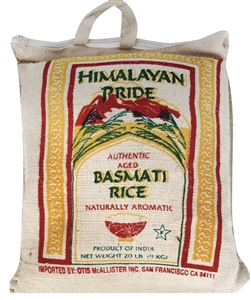 Packer Basmati Rice - 20 Lb.