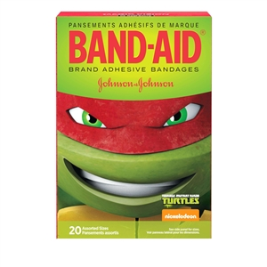 Band-Aid Teenage Mutant Ninja Turtles Assorted