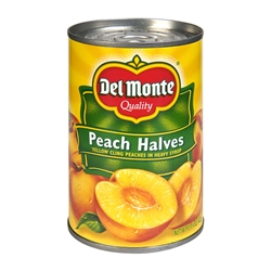Yellow Cling Peach Halves - 29 Oz.