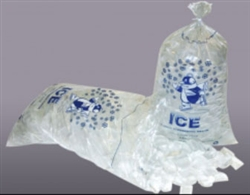 Printed Ice Bag - 15 Mil