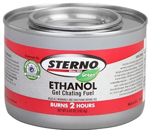 Green Ethanol Gel 2 Hour Chafing Fuel