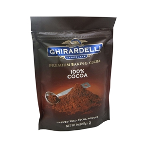 Unsweetened Cocoa Powder Pouch - 8 oz.