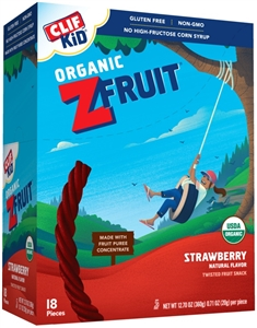 Clif Zbar Kid Zfruit Strawberry Snack Bar - 0.7 oz.