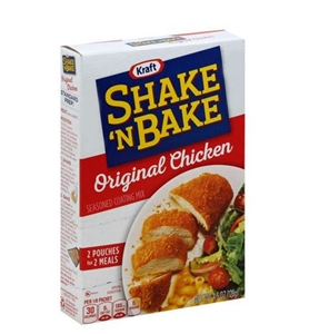 Shake N Bake Original Chicken Coating Mix - 4.5 oz.