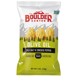 Boulder Olive Oil Canyon Cut Sea Salt and Pepper - 6 Oz.