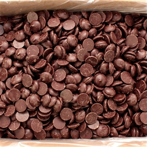 Queen Dark Chocolate Wafers - 25 Lb.