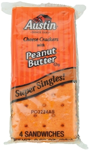 Austin Sandwich Cheese and Peanut Cracker - 0.93 oz.