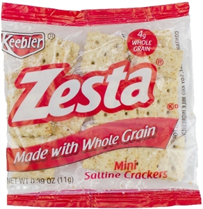 Saltine Mini Whole Grain Zesta - 0.39 oz.