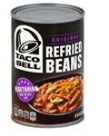 Taco Bell Refried Beans - 16 Oz.