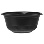 Black Hot and Cold Container - 12 oz.