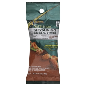 Planters Nutrition Chocolate Nut Sustaining Energy Mix - 1.72 Oz.