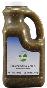 Salsa Verde Roasted with Lime Juice - 70 Oz.