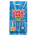 Tangy Zangy Sour Blue Raspberry Twist Sticks Candy - 5.1 oz.