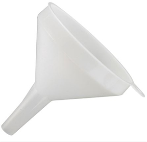 Plastic Funnel 4 in. Dia.- 8 Oz