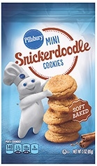 Soft Baked Mini Cookies Snickerdoodle - 18 Oz.