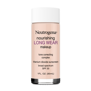 Neutrogena Nourishing Long Wear SPF 20 Natural Ivory - 1 Fl. Oz. Bulk Case of 36