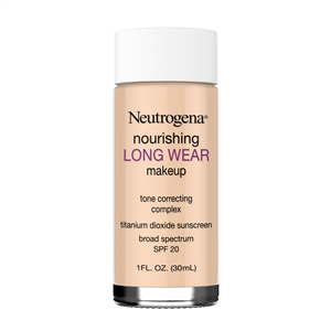 Neutrogena Nourishing Longwear Makeup SPF 20 Natural Beige - 1 Fl. Oz. Bulk Case of 36