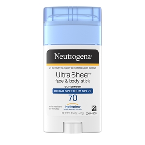 Neutrogena Ultra Sheer Spf 70 Stick - 1.5 oz.