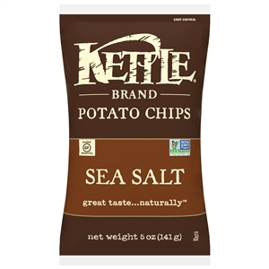 Kettle Sea Salt Potato Chip - 5 Oz.