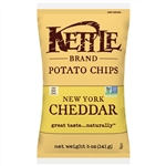 Kettle New York Cheddar Potato Chips - 5 Oz.