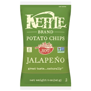 Kettle Jalapeno Potato Chips - 5 Oz.