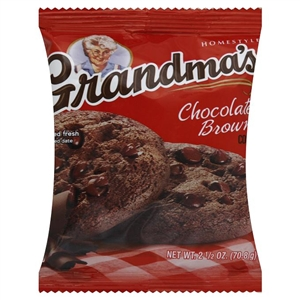 Grandmas Chocolate Brown Big Cookies - 2.5 Oz.