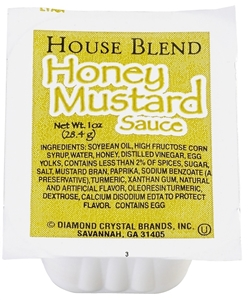 Honey Mustard Sauce Cup - 1 Oz.