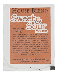 Sweet and Sour Sauce Cup - 1 Oz.